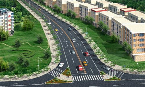万江区万龙路市政道路改造工程