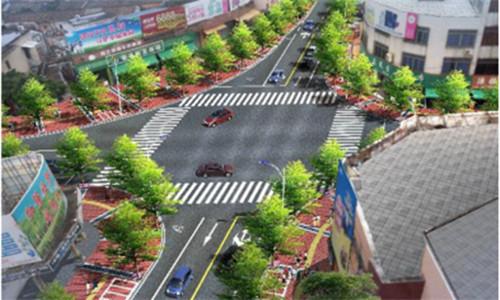 平冈镇东西南北街道路升级改造工程