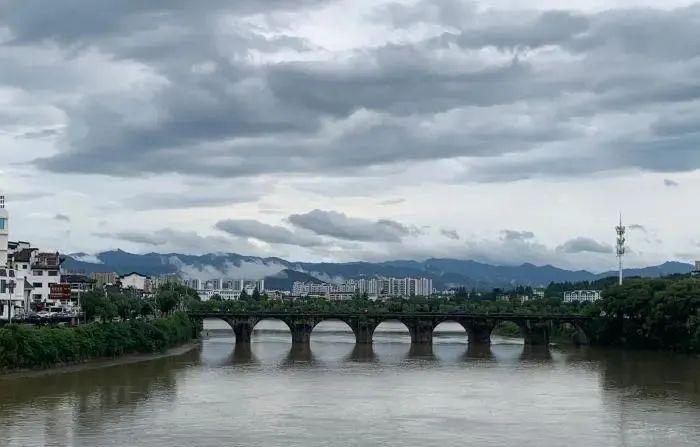 安徽明代古桥被洪水冲毁,修复没技术性问题